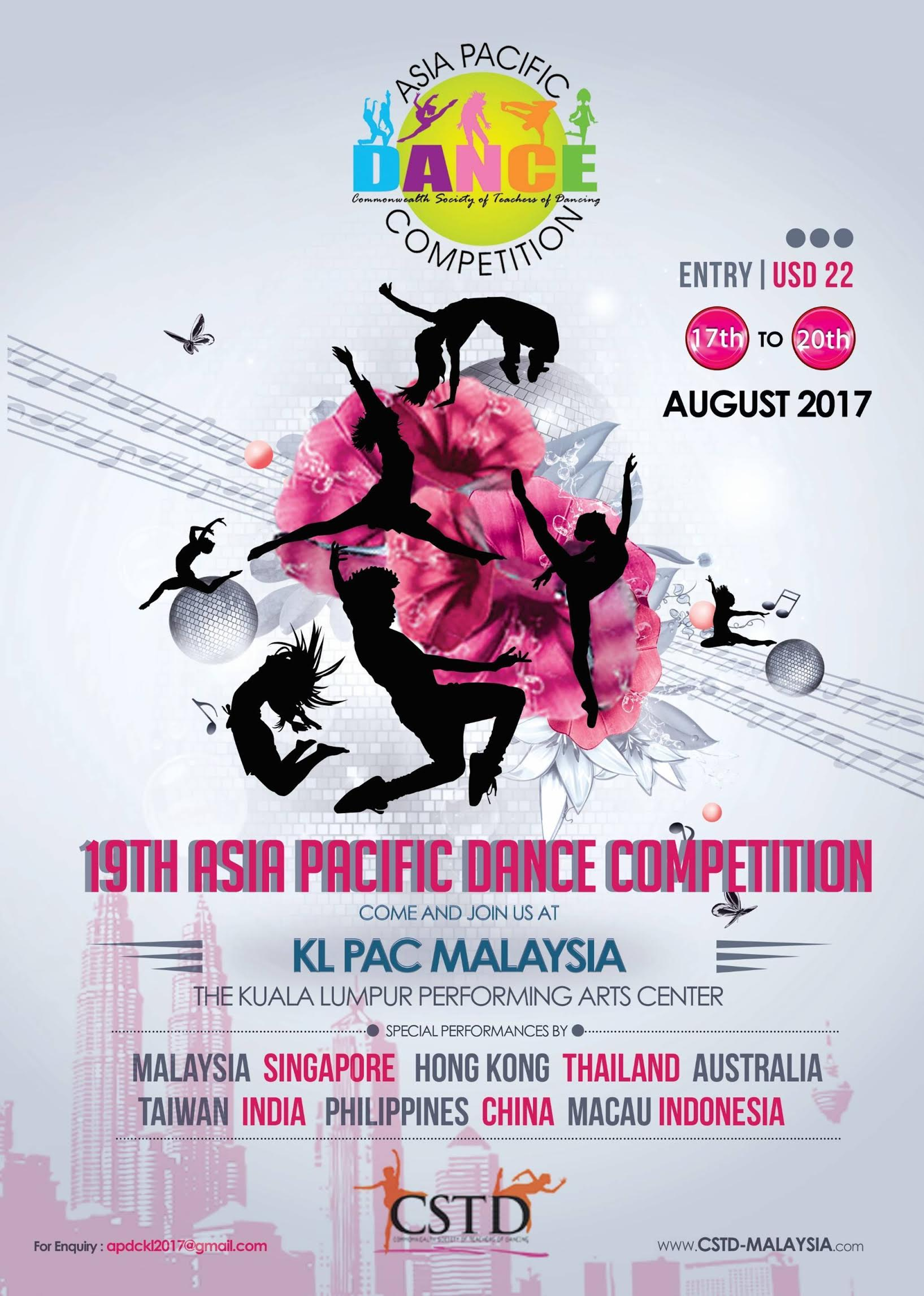 Poster design competition 2017 - 19th Cstd Asia Pacific Competition 2017